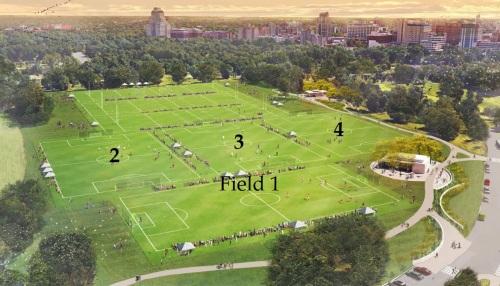 Emerson fields layout